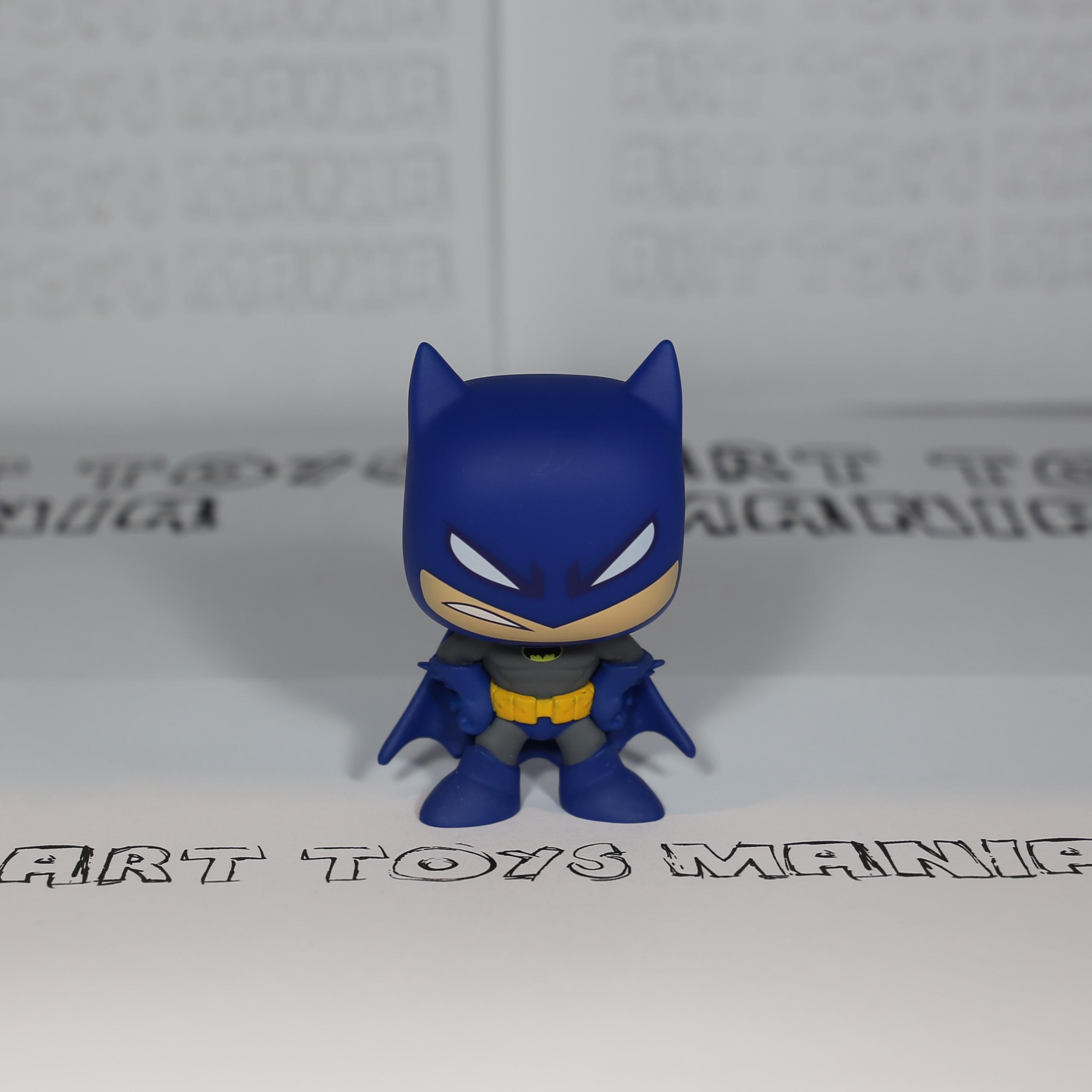 Batman blue angry