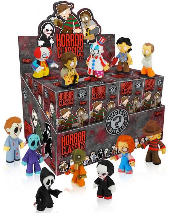 Mystery Minis Horror Classics Case 24 Blind Boxes Art