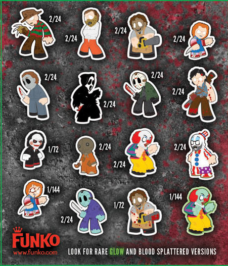 mystery minis  horror classics  case 24 blind boxes