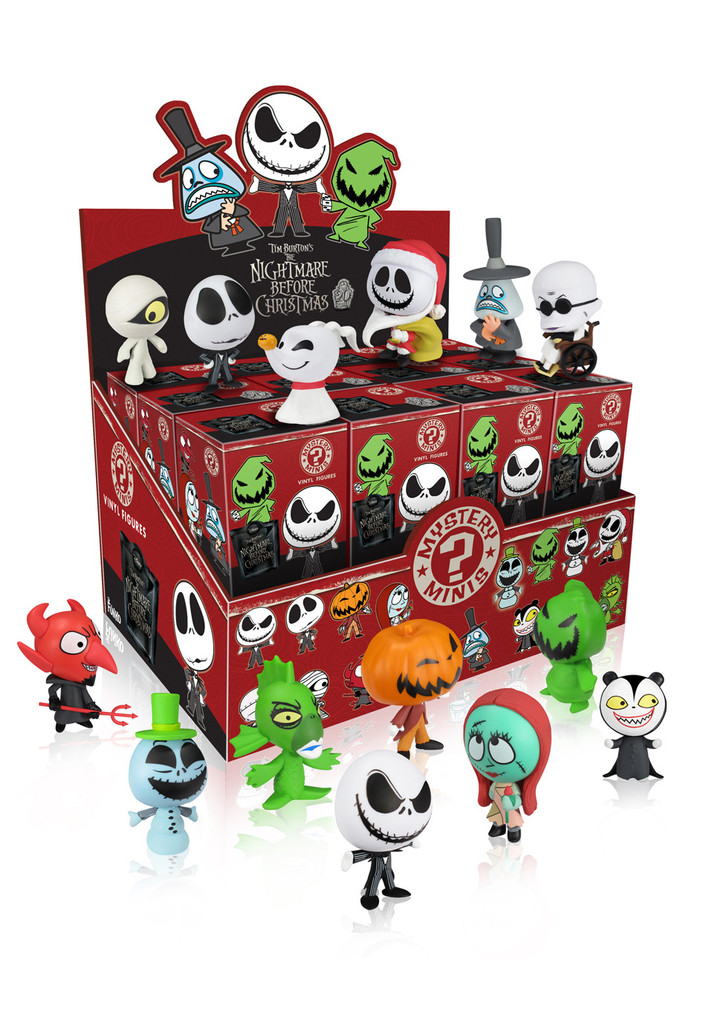 Mystery Minis The Nightmare Before Christmas Case 24