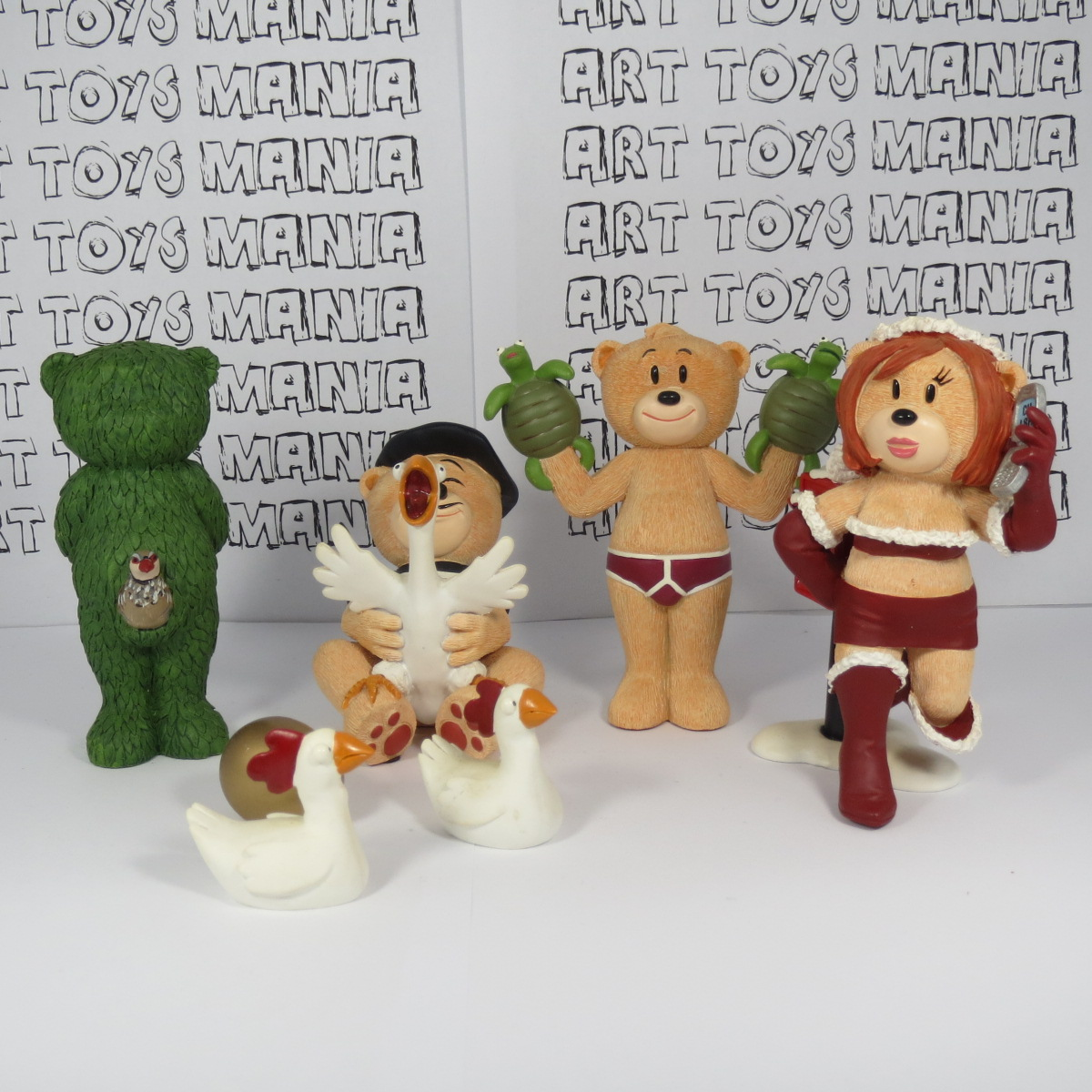 bad taste bears - frosty and bite - twin set collector edition